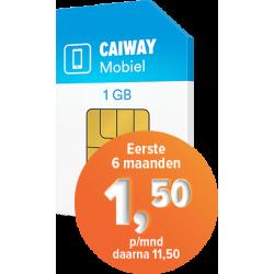 Caiway Mobiel 1 GB + 120...