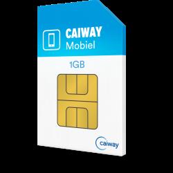 Caiway Mobiel 1 GB + 120 min + 25 sms